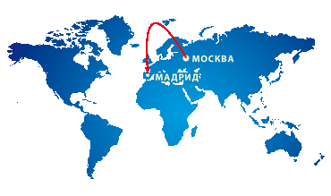 Авиабилеты москва-мадрид-москва дешево билет на самолет из ярославля в питер